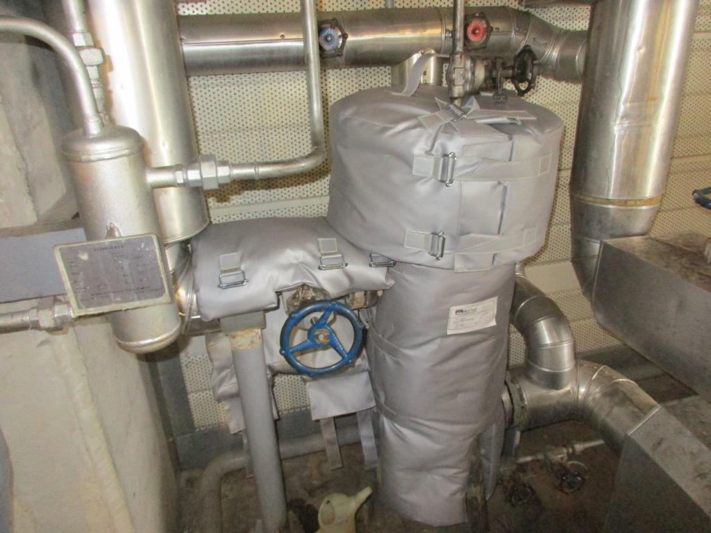 Projet matelas isolant chaufferie airbus blagnac isolation et calorifugeage industriel sud - Matelas isolant thermique ...