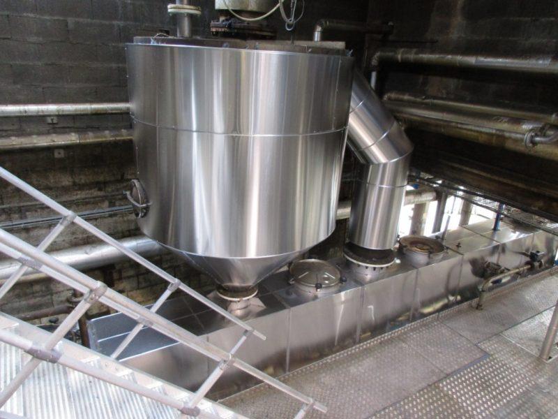 ACTISOL Calorifuge - Cuve graisse +convoyeur air chaud - Agen
