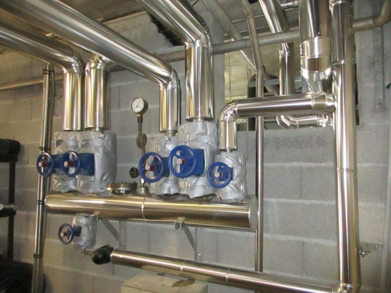 ACTISOL Calorifuge chaufferie - nourrice vapeur - Agroalimentaire