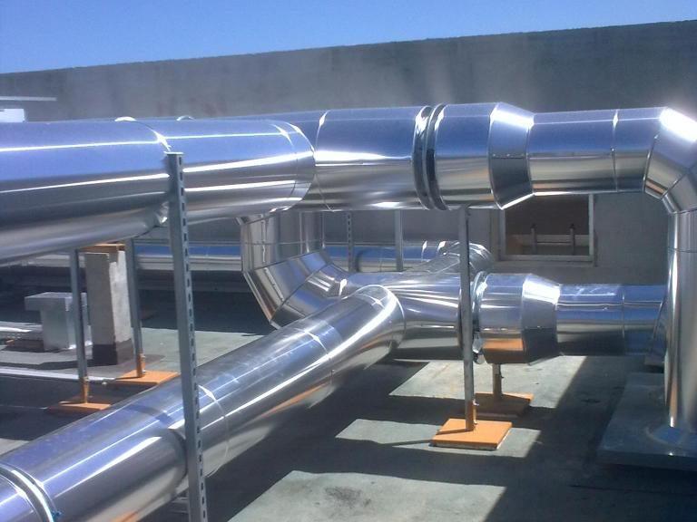 ACTISOL Calorifuge gaine toiture terrasse - genie climatique Bordeaux