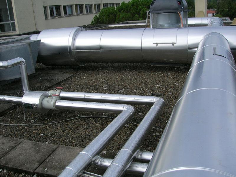 ACTISOL Calorifuge gaine + tuyauterie - Hopital Agen