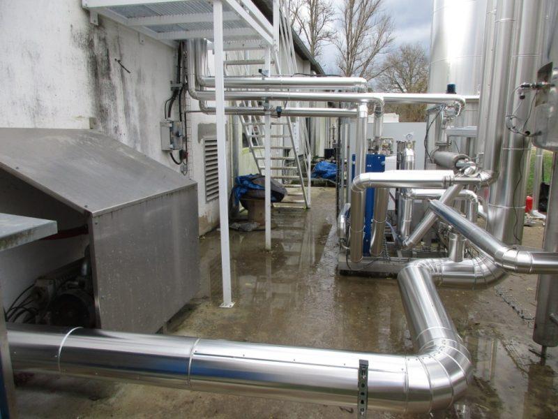 ACTISOL Calorifuge reseau recuperation eau chaude - economie energie - Aquitaine
