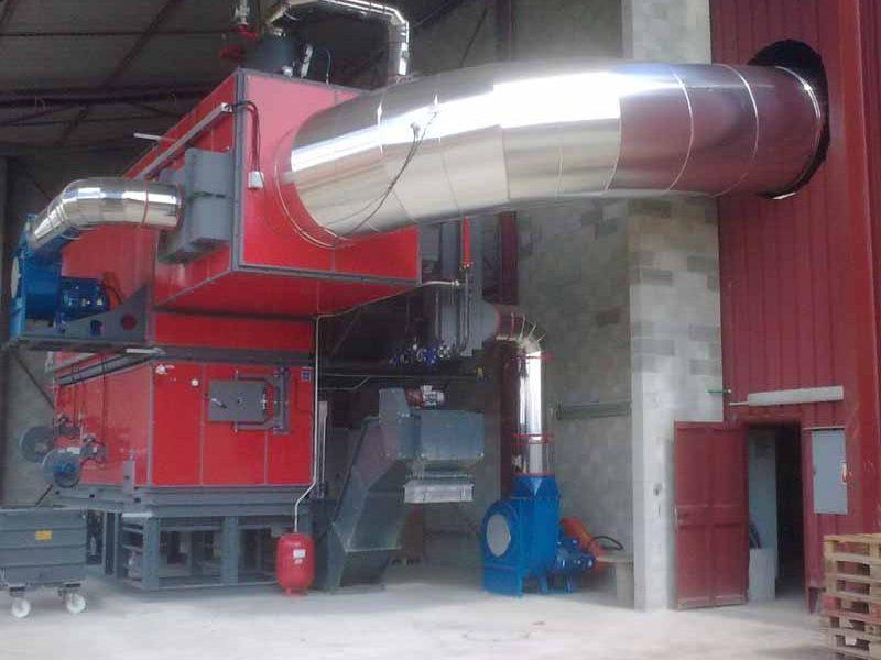 ACTISOL - Calorifugeage gaine cheminee - Chaudiere Biomasse Gironde