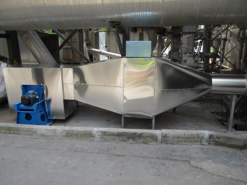 ACTISOL Calorifugeage industriel - Ventilateur+ detendeur air - Tarn et Garonne