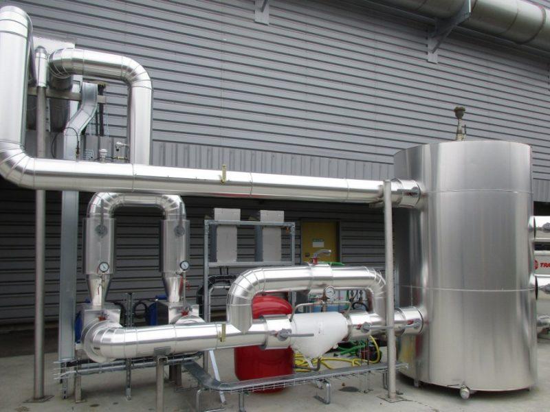 ACTISOL Calorifugeage reseau chaud-froid industrie - Landes - Hagetmau