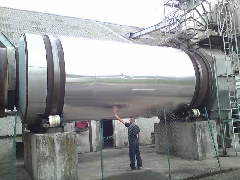 ACTISOL - Calorifugeage sécheur industriel rotatif - Aquitaine