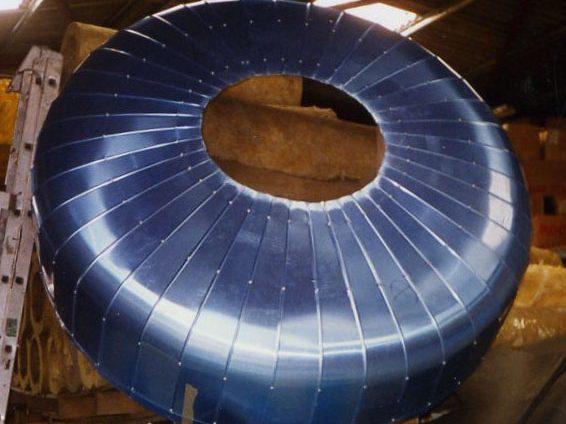 ACTISOL Fabrication tole calorifuge fond cuve bombe - Agen