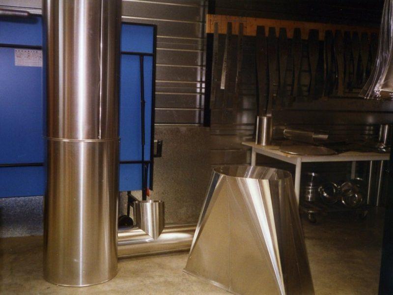 ACTISOL Fabrication tole fine inox calorifuge