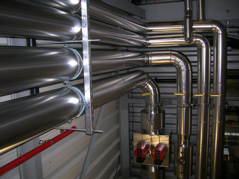 ACTISOL Isolation tuyaux eau glacee avec styro PIR - Lot et Garonne
