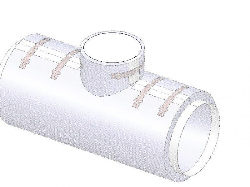 Matelas isolant thermique flexible et démontable sur vanne